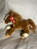 2012 Mack Wells Fargo Legendary Pony Plush Toy Horse Stuffed Animal