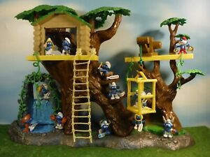 2010 ALL 12  ZODIAC SMURFS *NEW* WITH TAGS (TREE HOUSE IS NOT INCLUDED)
