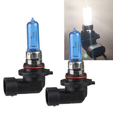 2* White 9005/HB3 6000K Xenon Gas Halogen Headlight Light Lamp Bulbs 100W Pop.