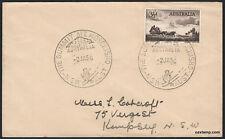 1956 Mount Kosciusko Summit Pictorial Postmark cv$250 Cover APM1135 Stamps