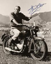 STEVE McQUEEN Screen Legend Action Great 8x10 AUTOGRAPHED Photograph RP