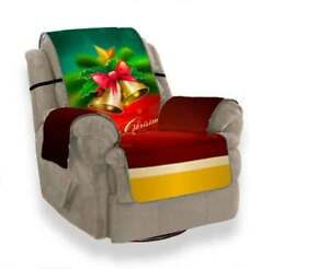 Merry Xmas Sofa Couch Cover Pet Dog Kids Mat Furniture Protector Slipcovers