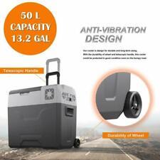 50L/52Qt Portable Mini Freezer Cooler 12V Ac/Dc Compressor Refrigerator Fridge
