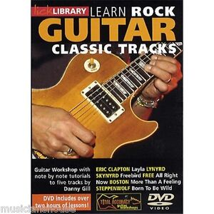 LICK LIBRARY Learn Play ROCK GUITAR CLASSIC TRACKS Eric Clapton LAYLA Lesson DVD