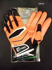 Cutters Gloves Football X40 Revolution Orange Size Large New