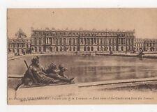 Palais de Versailles Facade de la Terrasse Vintage Postcard France 058a