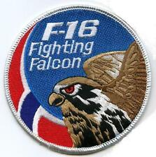 FIGHTING FALCON FIGHTER F16 SWIRL PATCH COLLECTIONS: NORWEGIAN AIR FORCE SWIRL
