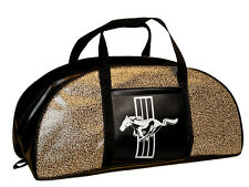 1964 65 66 67 68 69 70 71 72 73 Mustang Small Tote Bag Speckled w Mustang Logo