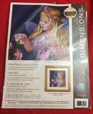 Dimensions Rose  Fairy Counted Cross Stitch Kit 80-35297 New