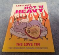 "Valentine's Day Postcard: ""Let's Get Hot n' Heavy"""