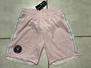 NWT ADIDAS Inter Miami CF MLS PINK Authentic Shorts Men's Medium