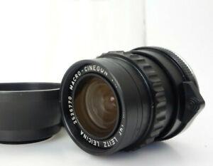 Leicina Special MACRO CINEGON 10mm f1,8 2526770 M Anschluss jk174