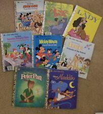 CHILDREN'S BOOKS A LITTLE GOLDEN BOOK  Vintage Classics LOT OF 8 VGC