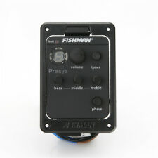 FISHMAN Presys+ 101 EQ Equalizer Preamps Acoustic Guitar EQ Tuner Piezo Pickup