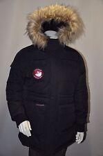 Canada Weathergear Triple Goose Water Resistant Shell Hood Parka Jacket Coat L