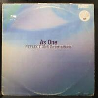 As One - Reflections On Reflections VG 2 LP New Electronica elec 23lp UK 1995