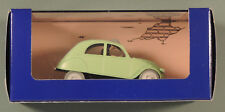 Tintin Herge voiture 6 La 2 CV et les Dupondt Affaire Tournesol atlas 1/43