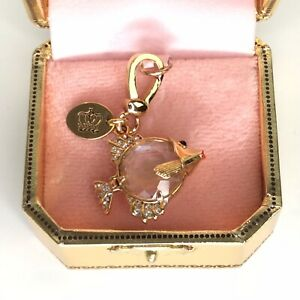 Juicy Couture Charm Angelfish Limited Edition 2009 Jelly Belly Rhinestones Box