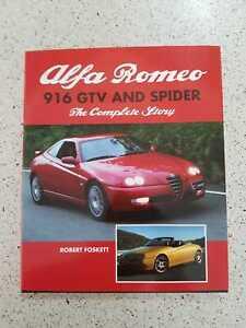 The Complete Story of Alfa Romeo 916 GTV & Spider Foskett 3.0 24V twin spark 2.0