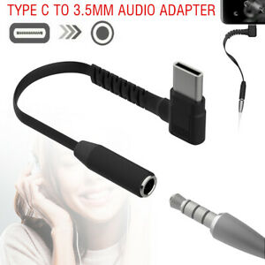 USB Type C to 3.5mm Headphone Audio Adapter For Galaxy S21/S20 FE/Note 20 Ultra*