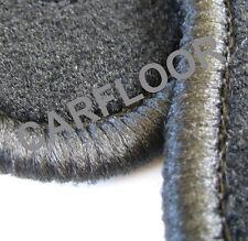 Mitsubishi Grandis ab 03.04 Fußmatten Velours schwarz mit schwarzem Rand
