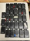 lot of 28 motorola minitor iv pagers vhf 2 channel