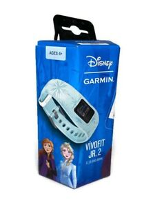 Garmin Vivofit Jr 2 Disney Frozen 2 Ana Elsa Kids Fitness Watch Activity Tracker