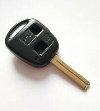 LEXUS KEY FITS IS200 GS300 LS400 RX300 REMOTE FOB 2 BUTTON TOYOTA SHORT TOY48