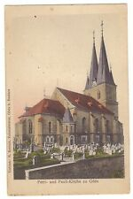 AK Göda i.Sa. -- Petri- u. Pauli-Kirche -- um 1920