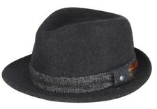 New Mens KANGOL Estate Arnold Hat Black Size Small FREE UK DELIVERY
