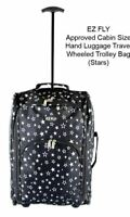 LIGHTWEIGHT CABIN APPROVED BAG TRAVEL WHEELED SUITCASE HAND LUGGAGE CASE TROLLEY
