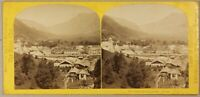 FRANCE Sallanches Photo William England Stereo Vintage Albumine ca 1865