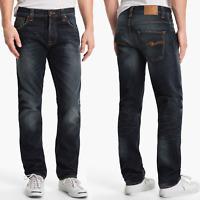 B-Ware | Nudie Herren Regular Fit Jeans |Hank Rey Indigo Depth | W32 L32