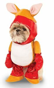 Boxer Kangaroo Wild Animal Cute Fancy Dress Up Halloween Dog Cat Pet Costume