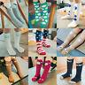 Baby Kids Toddlers Girls Knee High Socks Tights Leg Warmer Stockings For 0-6 Y