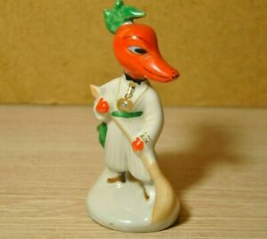 Soviet porcelain. Figurine Red pepper Reporter . USSR Rare