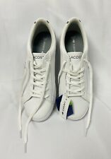 Mens/Boys All White Lacoste Trainers Size 5.5