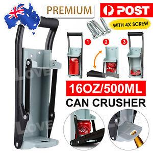 Can Crusher 16oz Beer Soda Smasher Aluminium Recycling Bottle CRUSH camping