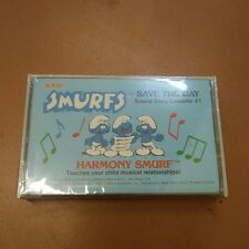 Coleco Kid Vid Smurfs Save the Day Cassette only