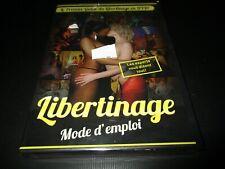 """DVD NEUF """"LIBERTINAGE : MODE D'EMPLOI"""""""