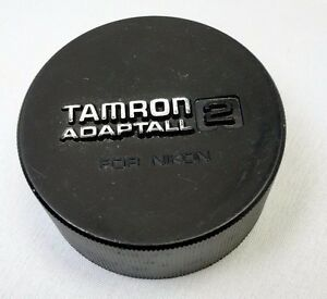 Funda Trasera Lentes Genuino Tamron 'Adaptall' 2 para Nikon F Ai-S