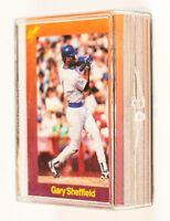 1989 Classic Orange (50) Card Set Ken Griffey, Bonds, McGwire, Maddux,Bo Jackson