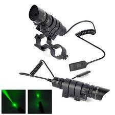 Portée tactique vert visée laser Gun + Interrupteur à distance + Rail Picatinny