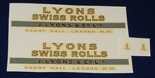 "#296 Transfer for Dinky #514 Guy Van ""Lyons Swiss Rolls"""