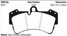 EBC Yellowstuff Brake Pad Set Front for 06-19 Q7 / 03-10 Cayenne # DP41473R