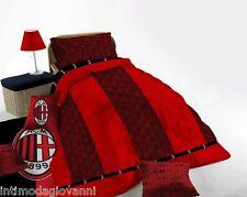 Trapunta Piumone invernale NOVIA Singola AC Milan ufficiale 100%Cotone 170x270cm