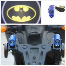 12V Motorcycle Batman Logo laser Ghost Warning Signals Indicator Projector Light (Fits: Gecko)