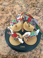 Hallmark Carousel Horses 1989