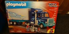 Playmobil City Action Big Rig Set 9314 22pc piece Brand New.