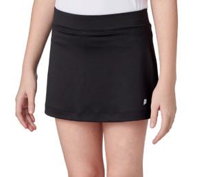 Prince Tennis Skort Big Girls Small New Match Training Knit Undershorts Black